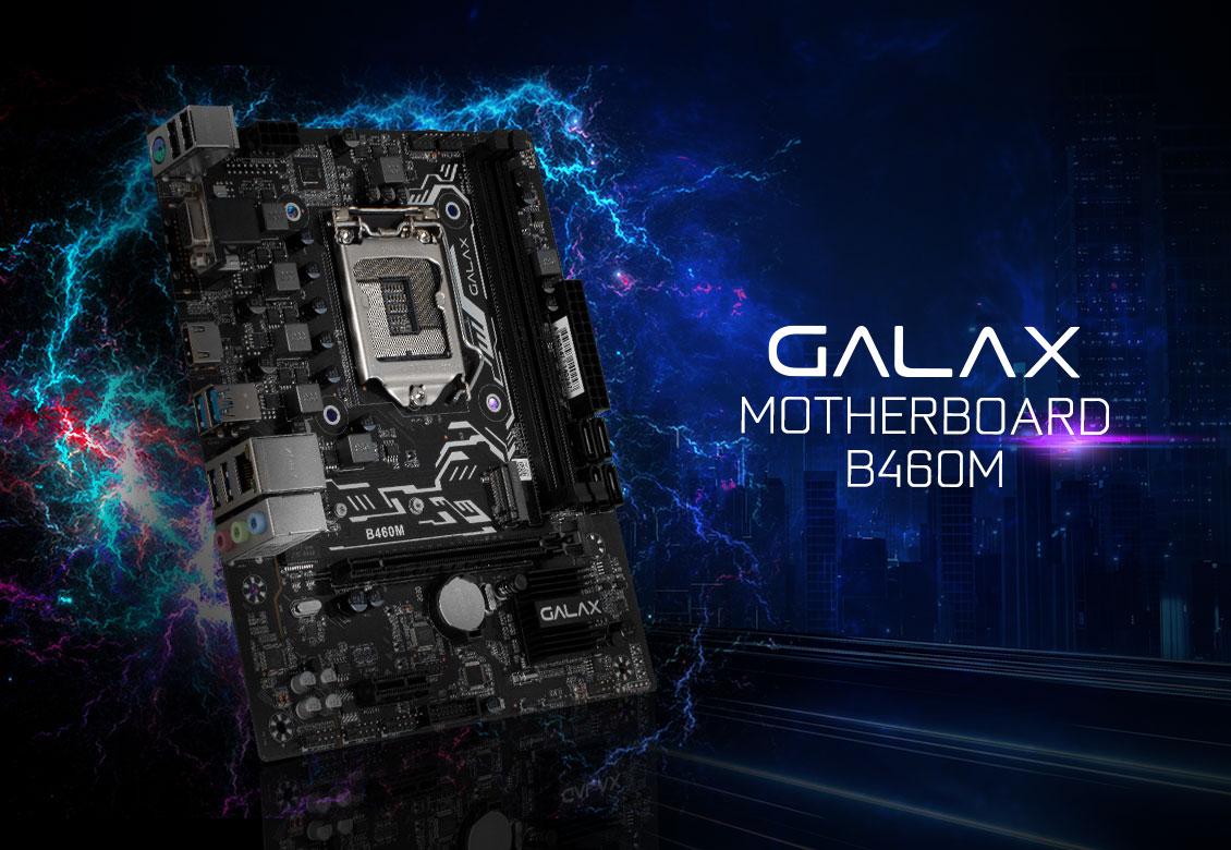 Mainboard GALAX B460M (Intel B460, Socket 1151, m-ATX, 2 khe RAM DDR4)