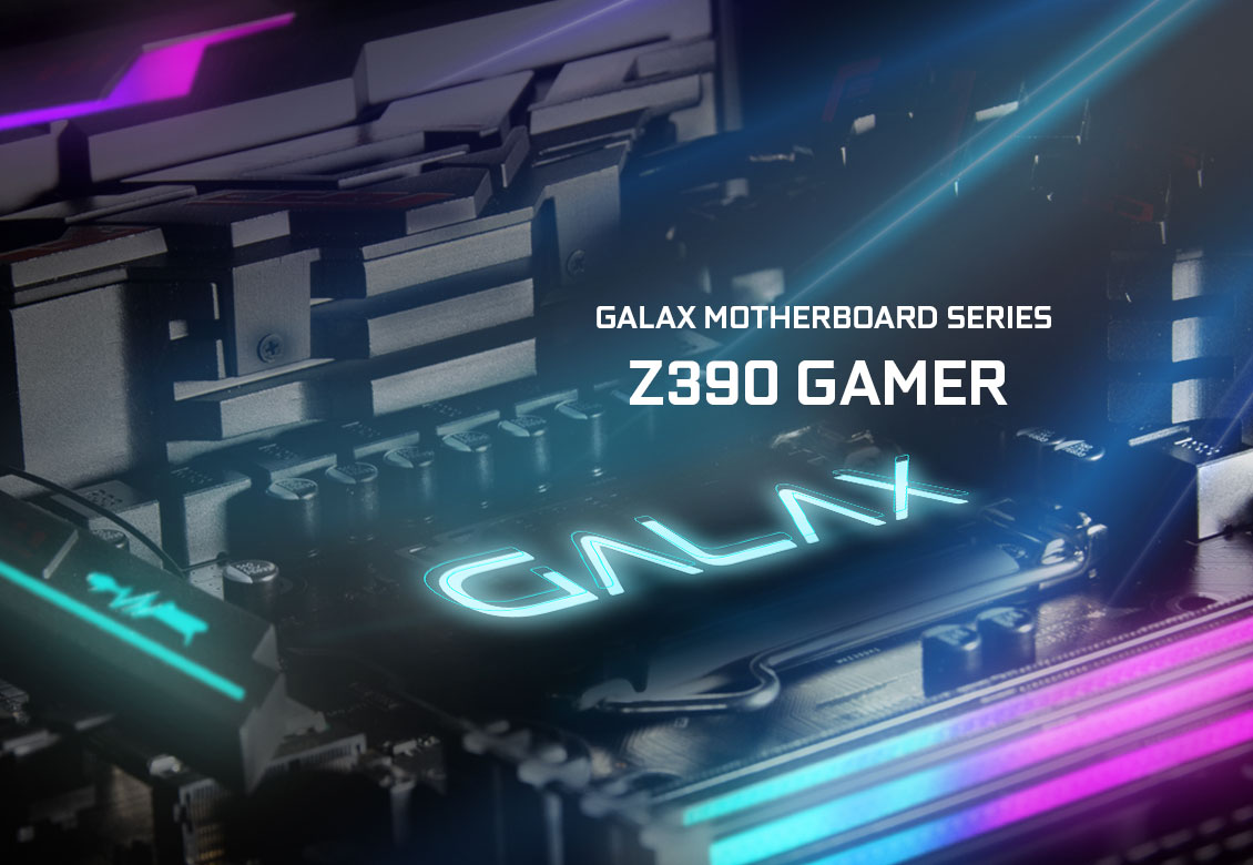 Mainboard GALAX Z390 Gamer (Intel Z390, Socket 1151, ATX, 4 khe RAM DDR4)